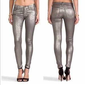 MOTHER • The Looker • Gunmetal • Skinny Jeans • 27